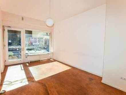 Laden-/ Atelier-/ Bürofläche mit Keller nahe Kulturbrauerei