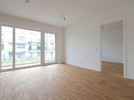 Gut geschnittene, helle Neubauwohnung mit hochwertiger Ausstattung und großem Balkon