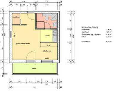 Single Apartment in Worms -Abenheim
