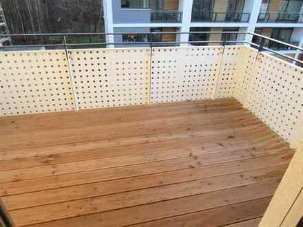 // NEUBAU - Bad mit Wanne u. Dusche - Gäste-WC - Fußbodenheizung - Balkon - 360 Grad Tour