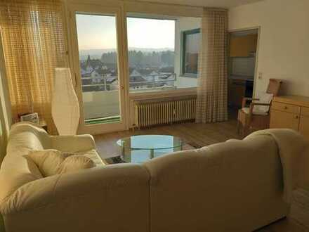 1-Zimmer-Wohnung mit Balkon und Einbauküche in Lauben