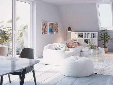 Mehr geht nicht! Toll geschnittene 4-Zimmer-Wohnung mit 2 Bädern und 2 Dachterrassen