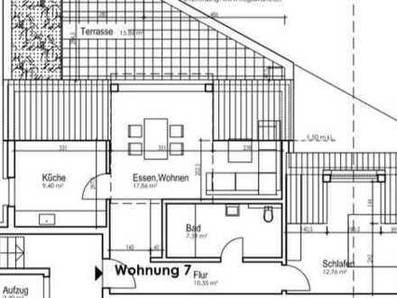 Erstbezug Neubau 2 ZI Küche, Bad + großer Balkon