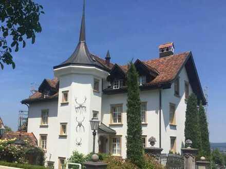 Repräsentatives Schloss mit Blick auf den Bodensee/Schwäbische Meer