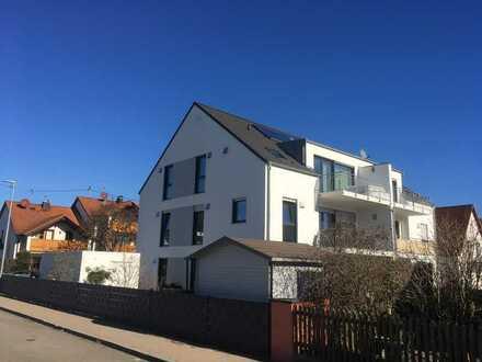 Helle Neubau-Wohnung in Stettenhofen b. Gersthofen