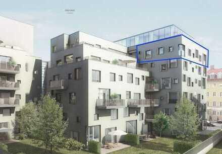 RESERVIERT ! Gärtnerplatzviertel ! 4-Zi-Neubau-Whg. m. sensationellem Blick u. Süd-Westbalkon