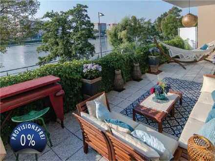 provisionsfrei - Appartement am Flussufer Westhafen