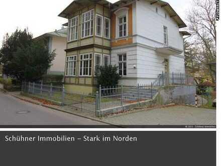 Seebad Heringsdorf – denkmalgeschützte Villa mit drei Wohneinheiten zu verkaufen