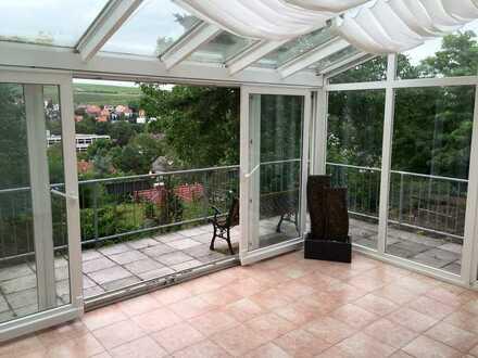 Sehr schöne 2-3-Zimmer-Terrassenwohnung mit Balkon und Einbauküche in toller Lage von Bad Kreuznach