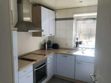 Büro/Modernisierte 2-Raum-Wohnung , incl. Garage, Stellplatz, Einbauküche