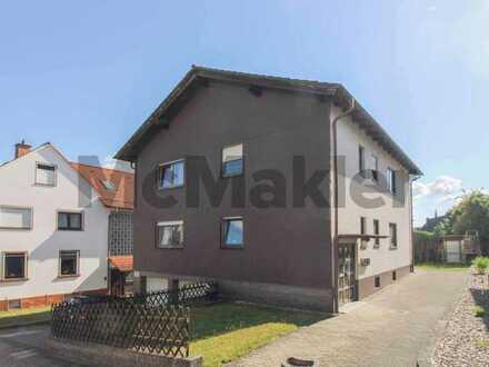 Wohnen und Vermieten in einem: Schönes ZFH mit 2 Balkonen und Terrasse in zentraler Lage