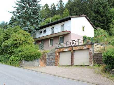 Freistehendes Einfamilienhaus in attraktiver Waldrandlage von Schönau-Altneudorf