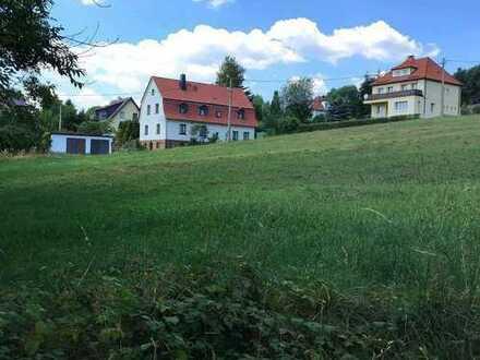 Bauträger-Grundstück in Sonneberger Südhanglage