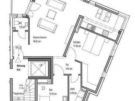 Erstbezug mit Balkon: exklusive 2-Zimmer-Wohnung in zentraler Lage in Bocholt