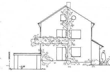 Zweifamilienhaus in einer grünen Oase in Durlach