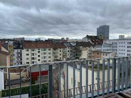 Weitblick über den Dächern von Mainz