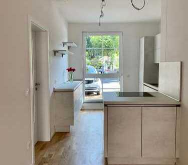 Tolle 3 Zimmer Wohnung im EG mit großer Terrasse in Düsseldorf Golzheim!