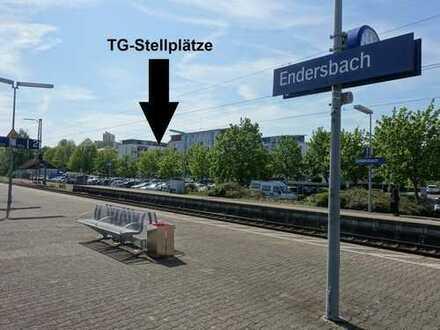 Seltene Gelegenheit! TG-Stellplätze in direkter Nähe zum Bahnhof Weinstadt/Endersbach