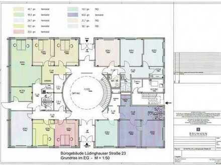 moderne flexible Büro- / Praxisflächen in versch. Größen