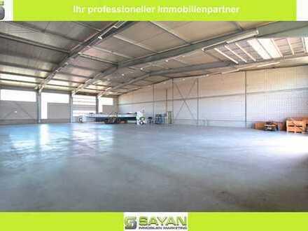 SAYAN Immobilien - Hochwertige Industriehalle in Meckenheim - Grundstücksgröße 3.264 m² -