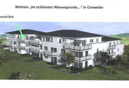 Erstbezug: Exklusive 3-Zimmer-Penthouse-Wohnung mit Einbauküche und Dach-Terrasse in Straubenhardt