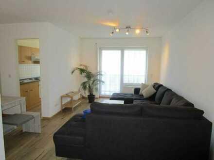 Möbliertes Wohnen, Exklusive, gepflegte 2-Zimmer-Wohnung im Zentrum mit sonnigem Südbalkon