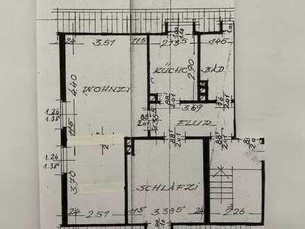 Dortmund-Aplerbeck , Renovierte 2 1/2 Zimmer Dachgeschosswohnung