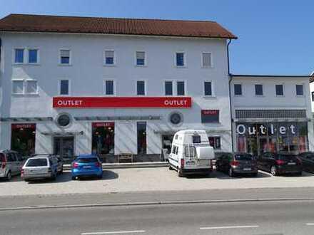 Ladenfläche mit Lagerfläche im Outlet Metzingen