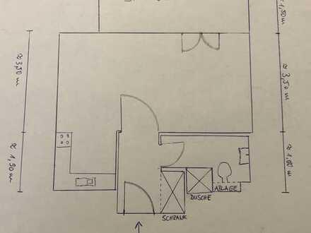 Freundliche 1-Zimmer-Wohnung mit Balkon und EBK in Glienicke/Nordbahn