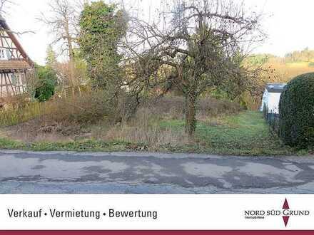 Baugrundstück mit traumhafter, unverbaubarer Sicht in Bühl-Neusatz. 778 m². Sofort bebaubar.
