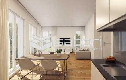 Erstbezug-KfW 55 2-Zimmer-Erdgeschosswohnung  mit eigenem Garten