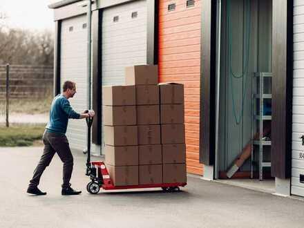 Moderne 28-112m² Garagen, Lager & Hallen mieten   Jederzeit kündbar & 24/7-Zugang