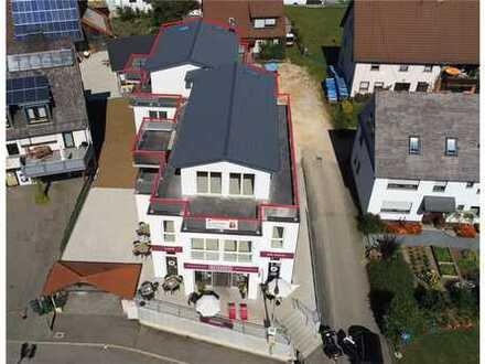 Exklusive Penthouse-Wohnung mit umlaufender Terrasse und herrlicher Aussicht