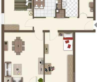 Schöne 3 Zimmer ETW mit Garage