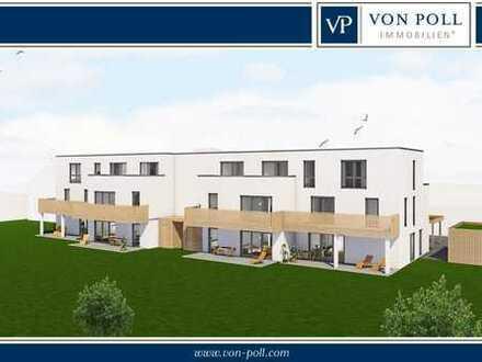Niestetal-Sandershausen: Neubau/Erstbezug: Großzügige 3 Zimmer Wohnung mit Balkon und Carport