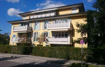 Sehr attraktive 2-Zimmer-Wohnung mit zwei Balkonen in ruhiger Wohnlage im grünen Umfeld
