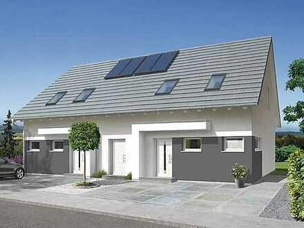 Perfektes Doppelhaus mit bezauberndem Garten !