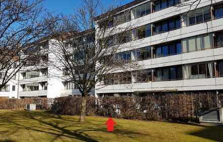 Gut vermietete EG-2,5-Zimmer-Wohnung mit eigenem Garten in München-Altperlach