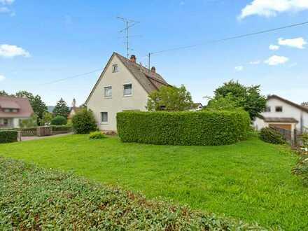 Sanierungsbedürftiges Einfamilienhaus mit hohem Zukunftspotenzial in Wilhelmsdorf!