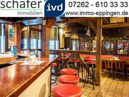 Reserviert! Eine Institution steht zum Verkauf - Gaststätte mit Wohnung zentral in Eppingen