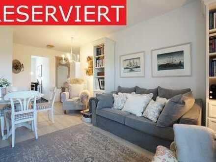 liebevoll gestaltete 3-Zi. Wohnung mit Garten in Westerland