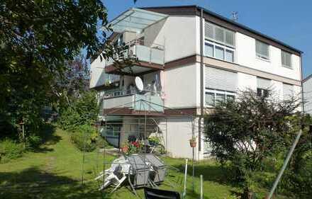 Modernisierte 4-Zimmer-Dachgeschosswohnung mit Balkon in Herrenberg