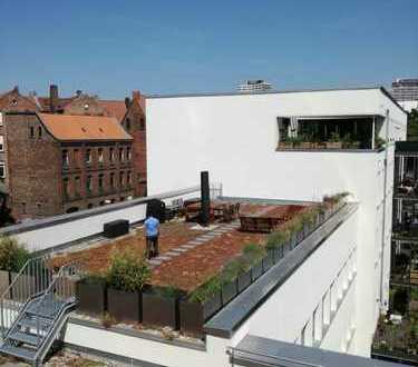 """Neubau """"Ihmeauen"""": Wohnen & Arbeiten am Wasser mit eigener Dachterrasse an der Ihme"""