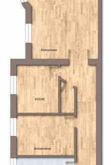 Sonnige 2-Zimmer-Wohnung mit EBK ab 01.01.2020