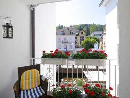 Tolle Lage im Herzen von Baden-Baden, schöne 2-Zimmer-Wohnung mit Loggia!