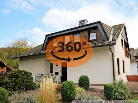 Gemütlich mit großem Garten! Gepflegtes Einfamilienhaus in Finnentrop-Rönkhausen!
