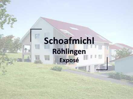 Erdgeschoss-Wohnung mit Terrasse im Schoafmichl in Röhlingen