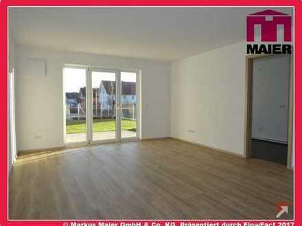 Geräumige Erdgeschosswohnung mit sonniger Terrasse!