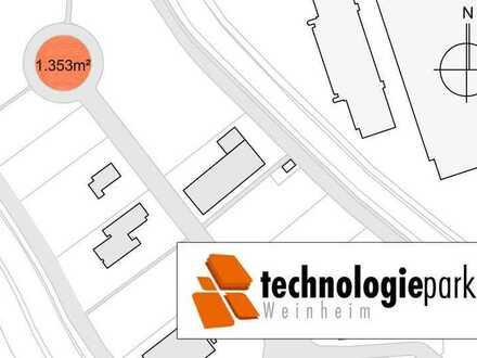 Exklusive Grundstücksflächen im Technologiepark Weinheim