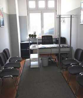 Büro in hellen 4 freundlichen Räumen, Empfang, Balkon, TG!